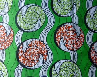 African Ankara Super Wax Print Fabrics For Sewing, Fabrics For Dress Making & Craft/Pagnes/Tissues Africain/Chitenge/Ankara Sold By Yard