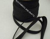 Bias Tape BLACK for Making Handmade Apron Supplies 100 Yds