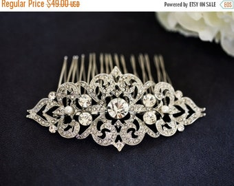 Lydia Bridal Hair Comb Two Small Vintage Style By