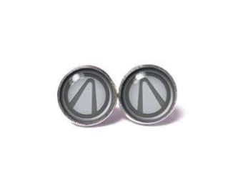 Borderlands Earrings - Vault Hunter Symbol