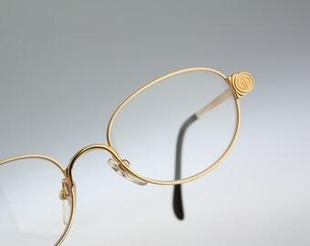 Alain Delon 3462  / Vintage eyeglasses and sunglasses / NOS  90's rare designer eyewear prescription frame