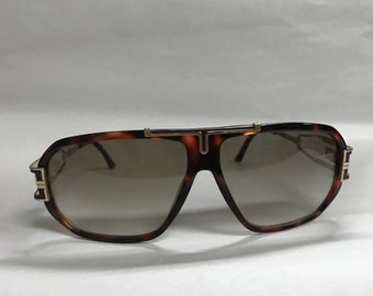 Tortoise and gold vintage sunglasses by Cazal