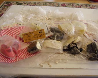 DESTASH LOT of Doll Shoes and Dresses/Vintage