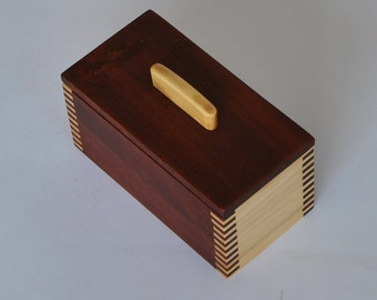 Ring box from Timber