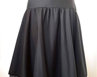Corolla black skirt