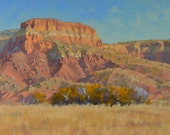 New Mexico - Ghost Ranch - Southwest - Georgia O'Keefe - Rocks - Red Rocks- West - Western - Plein Air - Oil Painting - Landscape
