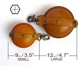 Men leather wallet - leather coin wallet SALE leather coin purse - coin pouch - key chain wallet - clutch wallet earphone case gift for him