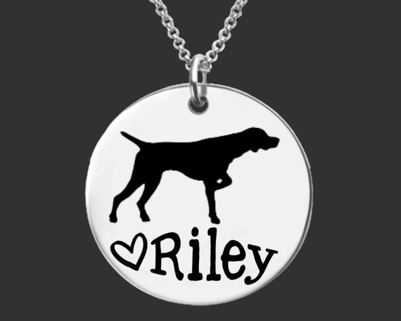 German Shorthaired Pointer  Necklace | German Shorthaired Pointer Jewelry | Personalized Gifts | Korena Loves