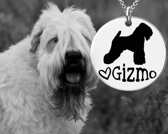Wheaten Terrier Necklace | Wheaten Terrier Jewelry | Personalized Dog Necklace | Personalized Gifts | Korena Loves