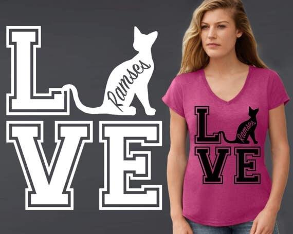 Sphynx   Sphynx Cat   Cat Shirt   Cat T-Shirt   Cat Lover Gift   Custom T-shirts   Personalized T-shirts   Korena Loves