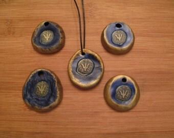 Widow's Mite pendant.