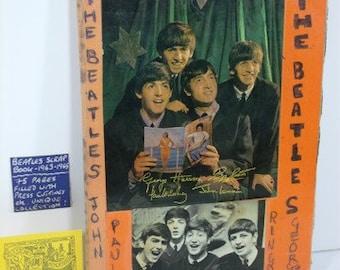 1963-65 Beatles Fan Scrapbook-75 pages!