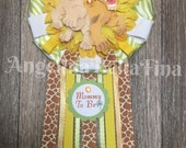 NEW Lion King Mommy To Be Corsage
