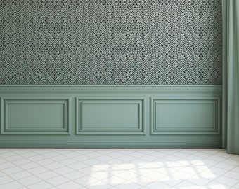 Victorian Tile Stencil