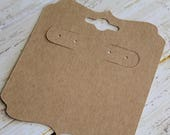 Blank Tags, Earring Cards, Jewelry Card, Bulk