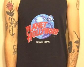 Vintage Planet Hollywood Hong Kong Tank Top