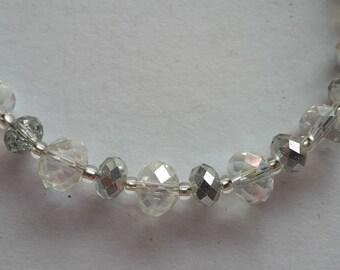 Sparkly faceted bracelet