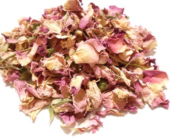 Pink Rose Petals - Romantic and Aromatic - Lovely in Potpourri, Incense, and Tea