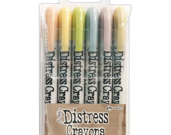 Tim Holtz Distress Crayons - Set #8