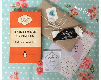 Beautiful Vintage Penguin Book Gift Boxes ~ Ladies Choice ~ Luxury Irish Chocolates & Herbal Tea ~ Unique Gift for Book Lovers