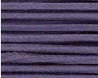 10M 1.5mm Dk LAVENDER / Purple Waxed Cotton Cord, Macrame cord, kumihimo cord, bracelet cord, knotting cord, Organza Necklace Cord