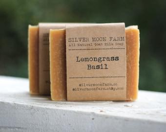 Lemongrass Basil Goat Milk Soap
