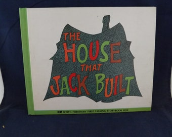 The House That Jack Built Book Talking Storybook