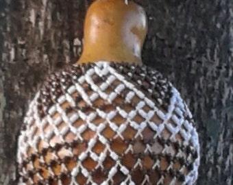 Sekere (maxi jumbo Yoruba-style netted gourd rattle)            FREE DOMESTIC SHIPPING