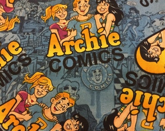 Archie Comic Fabric (Archie and the Girls) By The Yard
