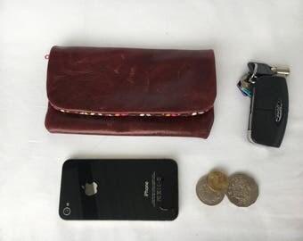 SALE- Leather mini purse