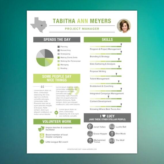 infographic resume design creative resume skills resume