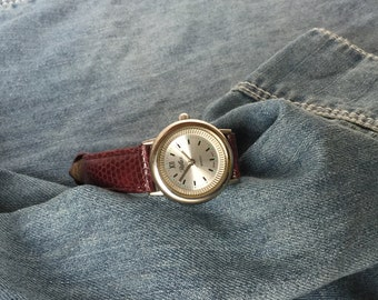 Ladies Reflex Watch, Quartz Watch, Ladies Quartz Watch, Unusual Quirky Dial