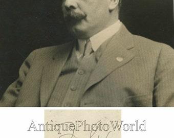 Mexico revolutionary General Felix Diaz antique photo