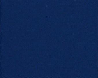 "Royal Blue curtain valance 41"" x 15"" in 100% Kona Cotton - Handmade new."