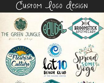 Custom Logo Design - Professional Branding Company Business Graphic Design Service