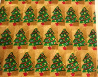 "Hallmark ""Holiday Traditions"" Christmas Tree Necktie"