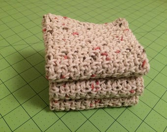 Hand crocheted washcloths