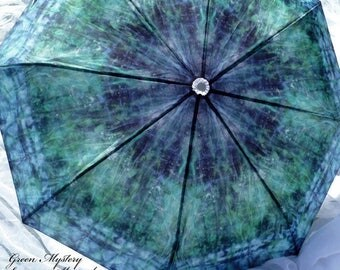 IN STOCK ! Unisex Fashion Rain Umbrella Nature Inspired Wow Factor Green