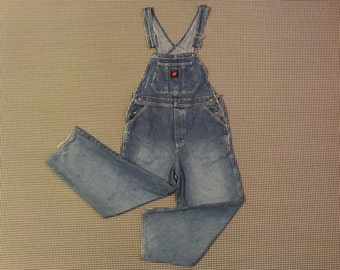 1990's, wide leg, overalls, by American Eagle Outfitters, Women's size Medium
