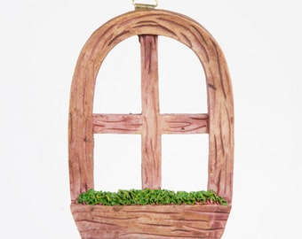 Fairy Garden Window - Miniature Fairy Door Accessories Fairy Garden Accessories