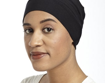 The Bamboo Basic (black) - A Soft, Hypoallergenic Cap