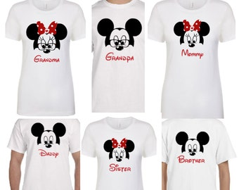 Disney Family Shirts Etsy