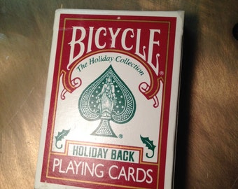 Bicycle playing cards special holiday back edition (unopened)