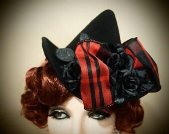 "NEW MINI wool witch hat ""Cesali"""