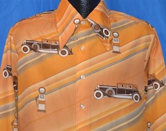 70s Kennington Mickey Mouse Disney Disco Shirt Large