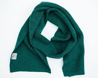 Scarf Construction Collection - Merino - Lambswool - Green