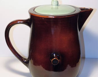 Vintage Red Wing Pottery Coffee Pot Server