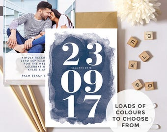Save the Date Invitations (DIY Printable)