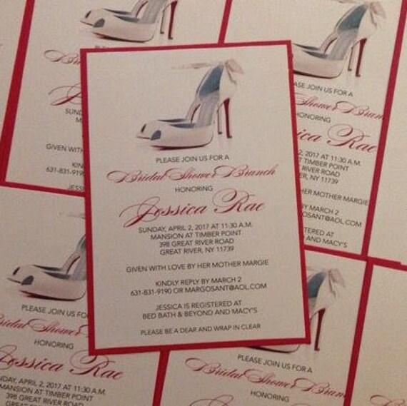Shoe invitation louboutin invitation bridal shower invitation il570xn filmwisefo