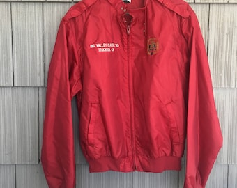 80s LA Members only Anheuser Busch Jacket